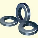 Roll rings for ribbed steel bars